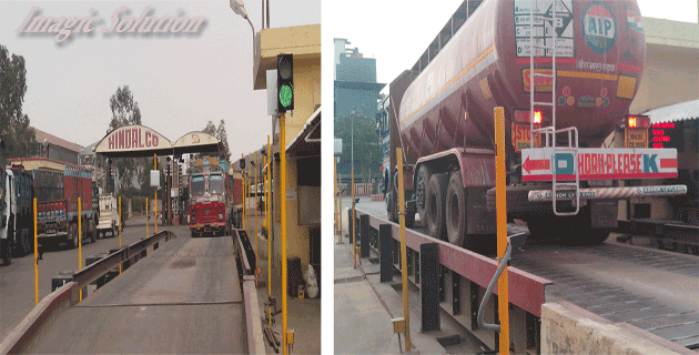 RFID unmanned weighbridge