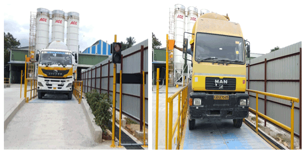 ACC Cement Plat weighbridge Automation